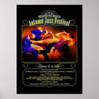 Fest 2008 del jazz del otoño de la playa de Rehobo Póster