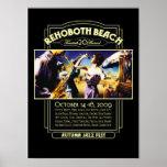 Fest 2009 del jazz del otoño de la playa de Rehobo Poster