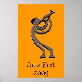 Fest 2009 del jazz poster