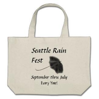 Fest de la lluvia de Seattle Bolsa