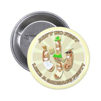 ¡Fest de la salchicha! Pin Redondo De 2 Pulgadas