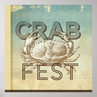 Fest del cangrejo posters