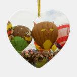 Fest del globo ornamento de navidad