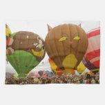 Fest del globo toallas de mano