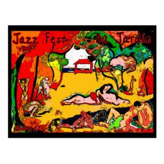 Fest Du Jardin 2010 del jazz Tarjetas Postales