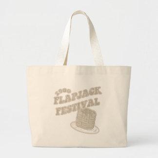 Fest el an o 80 del FlapJack Bolsa Tela Grande