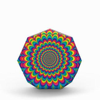 Fest psicodélico enrrollado del color