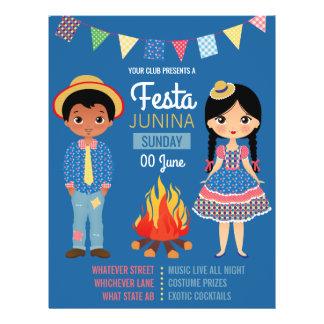 Festa Junina Corporate/Club Party Invitation Flyer