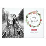 Festão do Natal Foto Cartão de Natal Invitacion Personalizada