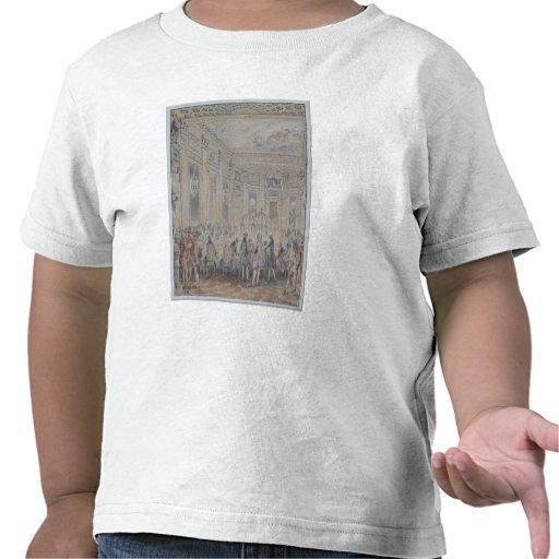 Festeje dado por señora du Barry para Louis XV Camiseta