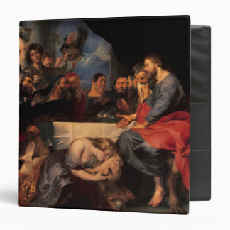 """Festeje en la casa de Simon al Pharisee, c.1620 Carpeta 1 1/2"""""""
