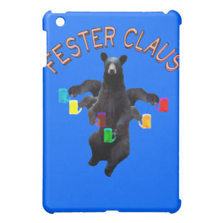 Fester Claus Fully Customizable Not Froze ClausMan Cover For The iPad Mini