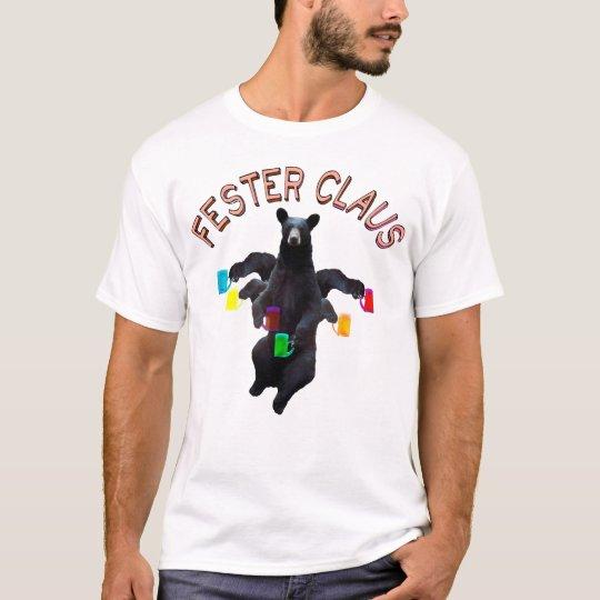 Fester Claus Fully Customizable UnFroze Claus Man T-Shirt