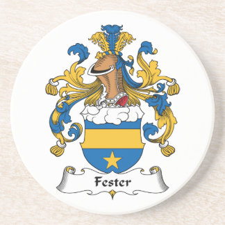 Fester Family Crest Drink Coasters