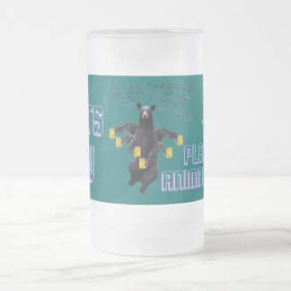 Fester Wants You To Pledge To Animal House Frosted Glass Beer Mug
