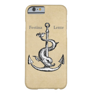 Festina Lente - dése prisa lentamente Funda De iPhone 6 Barely There