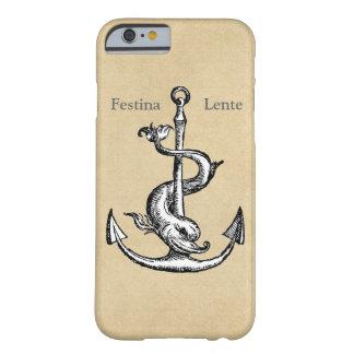 Festina Lente - dése prisa lentamente Funda Para iPhone 6 Barely There