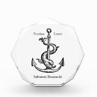 Festina Lente - Make Haste Slowly Award
