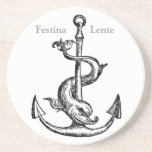 Festina Lente - Make Haste Slowly Coasters