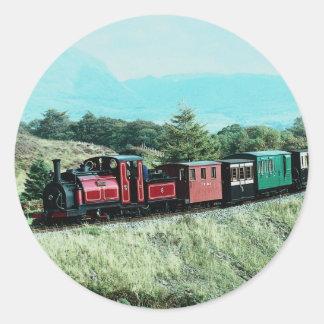 Festiniog Railway Classic Round Sticker