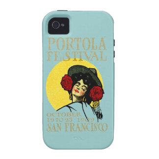 Festival 1909 de San Francisco Portola Vibe iPhone 4 Funda