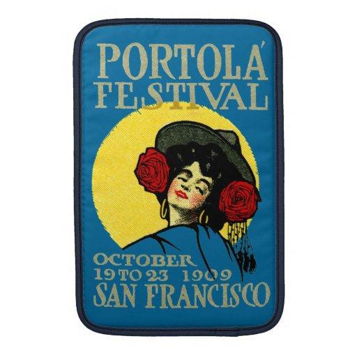 Festival 1909 de San Francisco Portola Funda Macbook Air