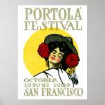 Festival 1909 de San Francisco Portola Impresiones
