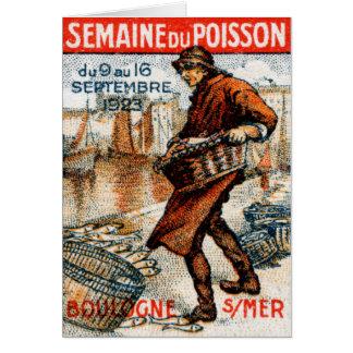 Festival 1923 de los mariscos tarjeta pequeña