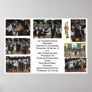 Festival 2011 de trompetas: La trompeta sonará Posters