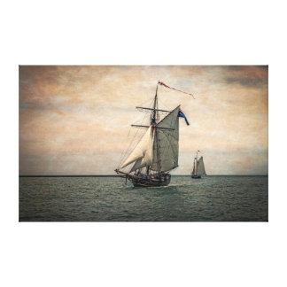 Festival alto de las naves, Digital alterada Impresion De Lienzo