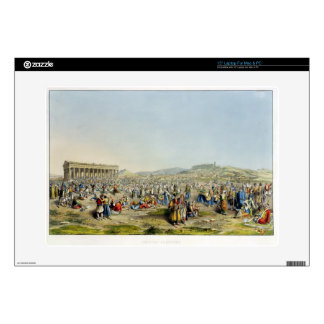 """Festival at Athens, pub. by J. Rodwell, 1830 (aqua Skins For 15"""" Laptops"""