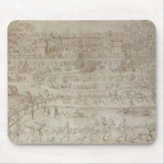 Festival at the Chateau d'Anet Mouse Pad