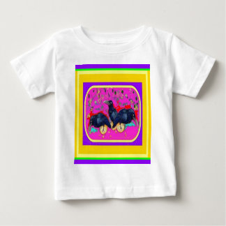 Festival Crows by Sharles Baby T-Shirt