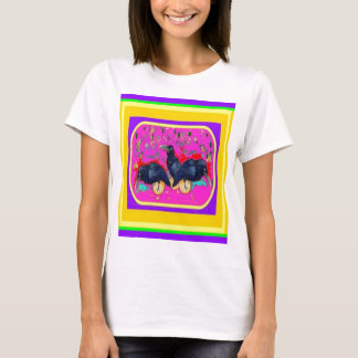 Festival Crows by Sharles T-Shirt