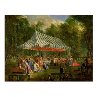 Festival dado por el príncipe de Conti Postal