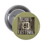 Festival de 61 azules pin