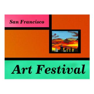 Festival de arte tarjetas postales