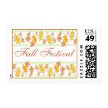 Festival de la caída de hojas franqueo
