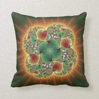 Festival de la cosecha - arte abstracto almohadas
