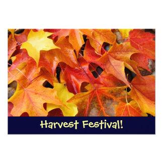 ¡Festival de la cosecha Invitaciones del aconteci Invitación Personalizada