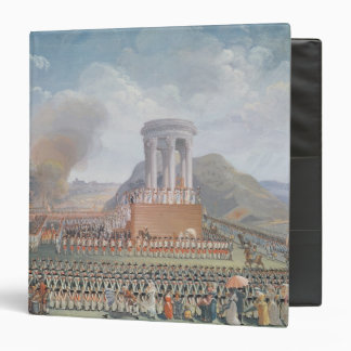 Festival de la federación, el 14 de julio de 1790