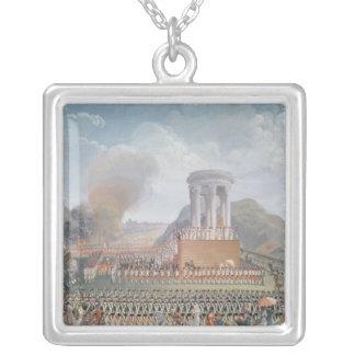 Festival de la federación, el 14 de julio de 1790 joyeria personalizada