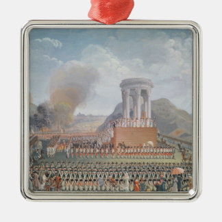 Festival de la federación, el 14 de julio de 1790 ornamentos de navidad
