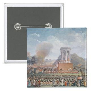 Festival de la federación, el 14 de julio de 1790 pin