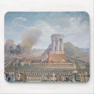 Festival de la federación, el 14 de julio de 1790 tapete de raton