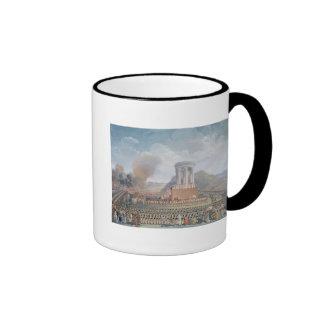 Festival de la federación, el 14 de julio de 1790 taza de café