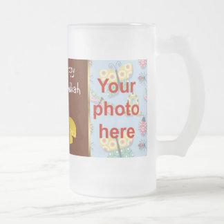 Festival de la taza de la foto de Jánuca de la luz