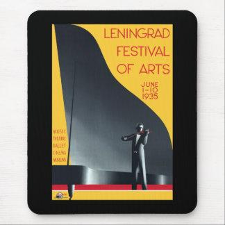 Festival de Leningrad de los artes Tapetes De Ratones