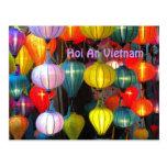 Festival de linterna Hoi un Vietnam Postales
