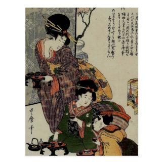 Festival de los chicas (Hanamatsuri) Postal